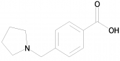 4-(Pyrrolidin-1-ylmethyl)benzoic acid