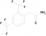 2-(2,4-Bis-trifluoromethylphenyl)thioacetamide, 97%