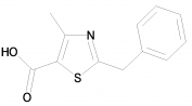 2-Benzyl-4-methyl-1,3-thiazole-5-carboxylic acid 97%